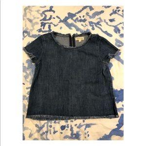 Anthropologie Cloth & Stone Denim shirt